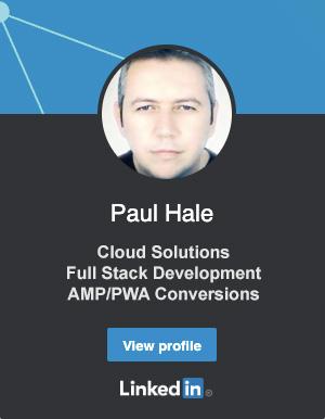 Paul Hale LinkedIn Profile